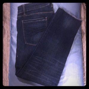 White House Black Market Slim Crop jean